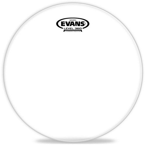 EVANS Tom-Tom Batter Head Genera Resonant [TT14GR] - Membran / Kulit Perkusi